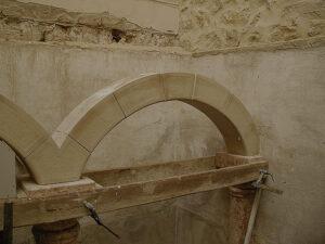 tipos de arcos de piedra el arco rebajado