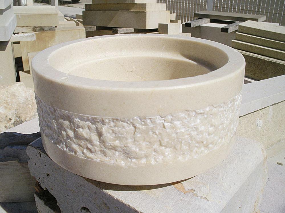 Pieza de mármol para lámpara