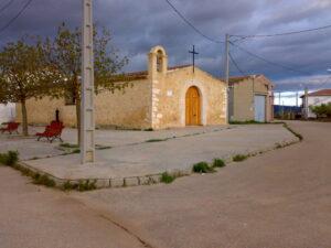 ermita donde se instalan las columnas de piedra