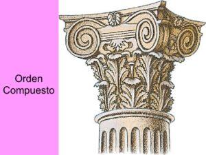 el capitel compuesto es el más elaborado de los órdenes clásicos