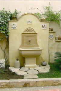 la fuente de piedra y el entorno