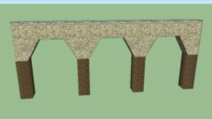 poco comun entre los tipos de arcos de piedra