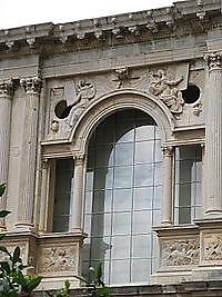 tipos de arcos de piedra: arco georgiano
