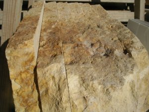 los cortes en la piedra natural pueden ser de cualquier medida