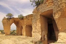 canteras de piedra que se explotaban hace miles de años