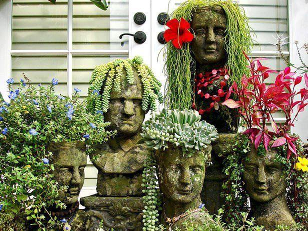 escultura en piedra para jardines