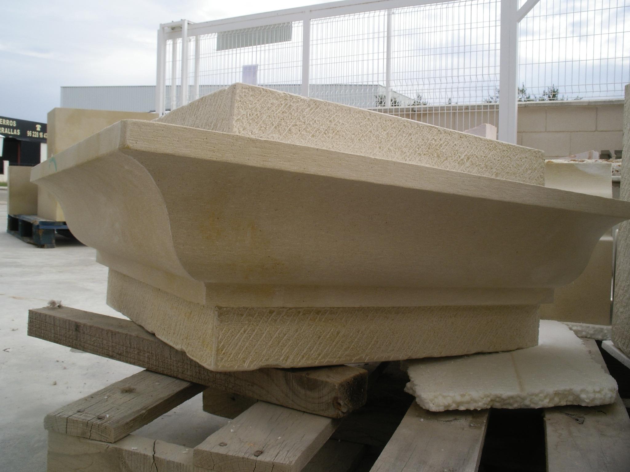 restauración de piedra exterior