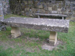 las mesas de piedra más rústicas
