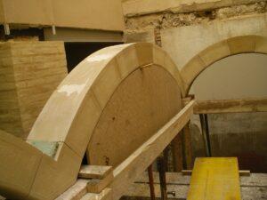 arcos como trabajos en piedra natural