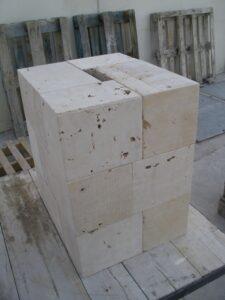 piedras para la base del monolito